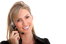 picture of customer care rep